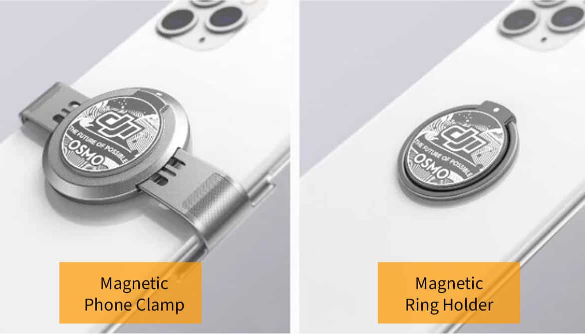 magnetic-phone-clamp- ring-holder-dji-om4