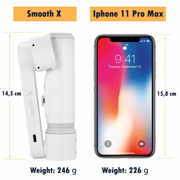 smooth-x-size-comparison-with - phone